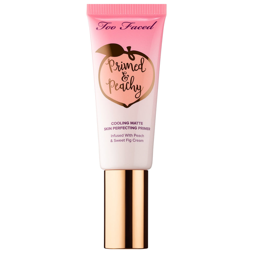 Too Faced Primed & Peachy Cooling Matte Perfecting Primer – Peaches and Cream Collection