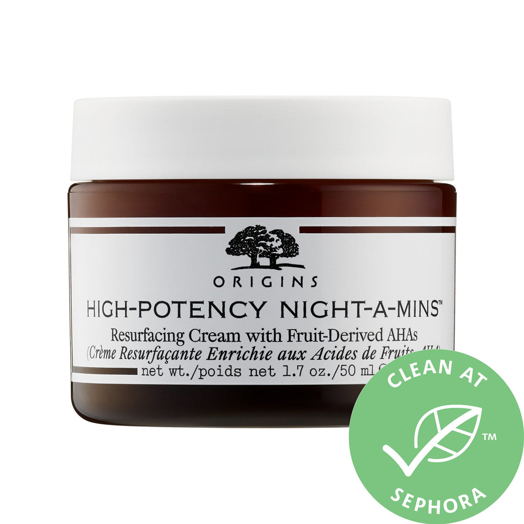 Origins High-Potency Night-a-Mins™ Resurfacing Cream with Fruit-Derived AHAs