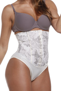 Esbelt - Elegant High Waist Girdle Ivory