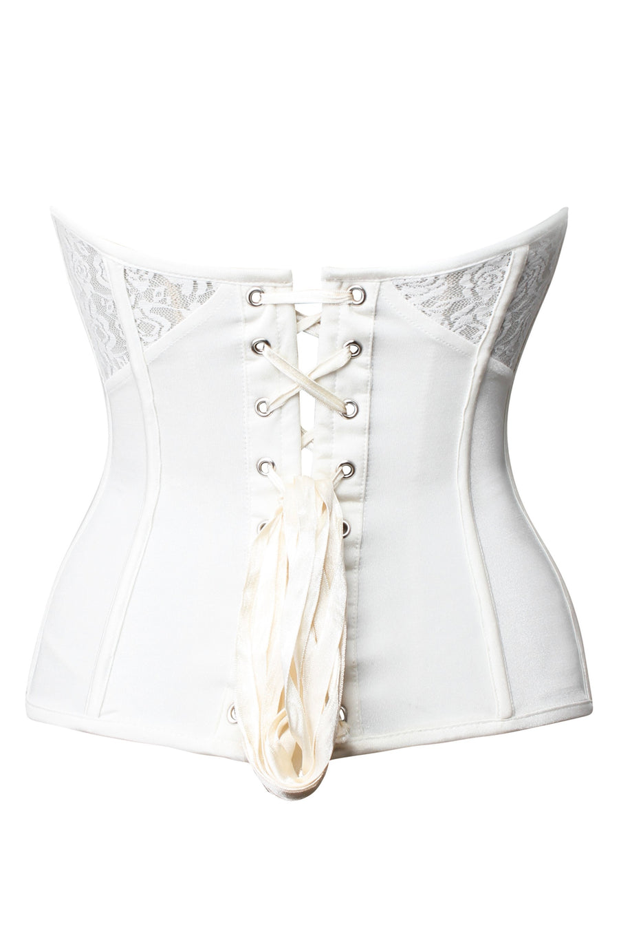 Low Back Corset Shapewear with Lace