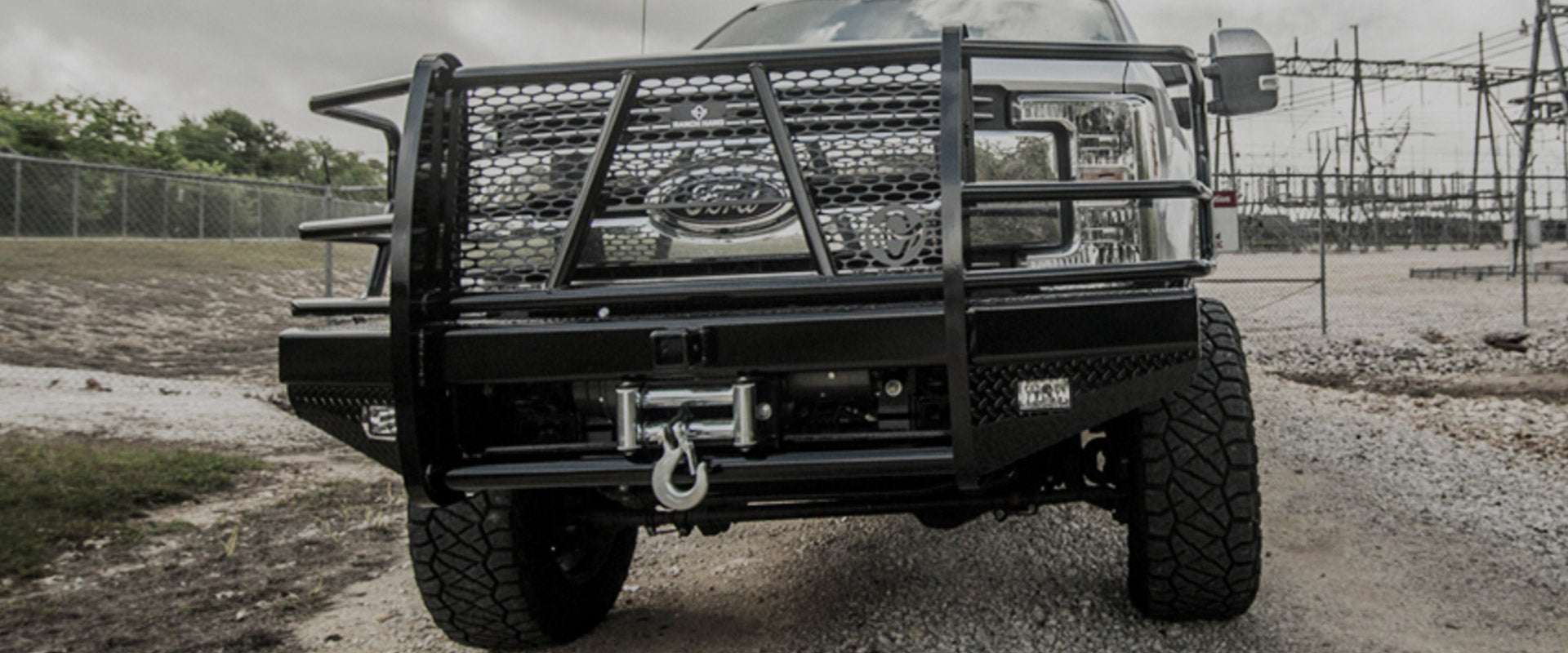 Ranch Hand Legend bumpers winch-ready