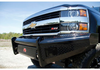 Fab Fours CH05-S1361-1 Chevy Silverado 2500/3500 2003-2007 Black Steel Front Bumper Black Steel Front Bumper No Guard Non Sensor-BumperStock