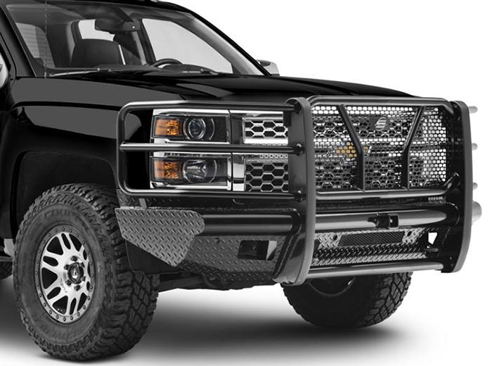 STEELCRAFT HD10420R 2014-2018 CHEVY SILVERADO 1500 HD BUMPER REPLACEMENTS FRONT BUMPER WITH RECEIVER