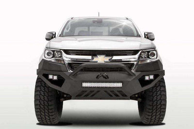 Fab Fours CC15-D3352-1 Chevy Colorado 2015-2018 Vengeance Front Bumper with Pre-Runner Guard-BumperStock