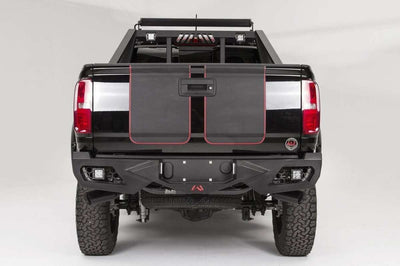 Fab Fours CC15-E3351-1 Chevy Colorado GMC Canyon 2015-2018 Vengeance Rear Bumper-BumperStock
