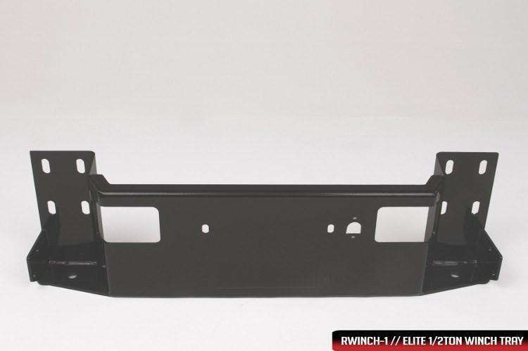 Fab Fours CH05-Q1360-1 2003-2007 Chevy Silverado 2500/3500 HD Black Steel Elite Front Bumper Full Guard-BumperStock