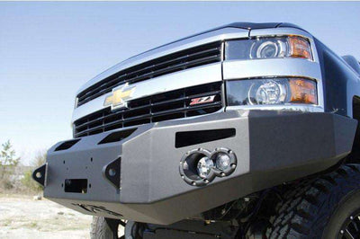 Fab Fours CH14-A3051-1 Chevy Silverado 2500/3500 2015-2017 Premium Front Winch Bumper without Grill Guard-BumperStock