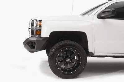 Fab Fours CS14-D3051-1 Chevy Silverado 1500 2014-2015 Vengeance Front Bumper No Guard-BumperStock