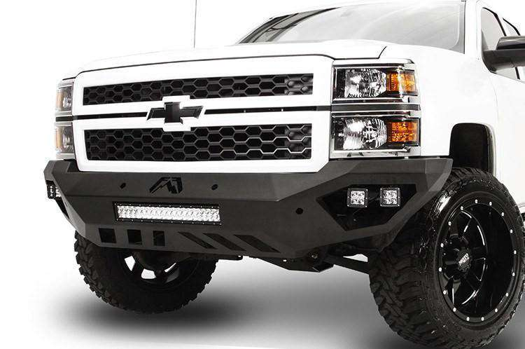 Fab Fours CS14-D3051-1 Chevy Silverado 1500 2014-2015 Vengeance Front  Bumper No Guard