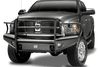 Fab Fours DR06-Q1160-1 Dodge Ram 2500/3500/4500/5500 2006-2009 Black Steel Elite Front Bumper Full Guard-BumperStock