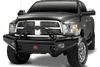 Fab Fours DR06-S1162-1 Dodge Ram 2500/3500/4500/5500 2006-2009 Black Steel Front Bumper Pre-Runner Guard-BumperStock