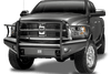 Fab Fours DR94-Q1560-1 Dodge Ram 2500/5500 1994-2002 Black Steel Elite Front Ranch Bumper Full Guard with Tow Hooks-BumperStock