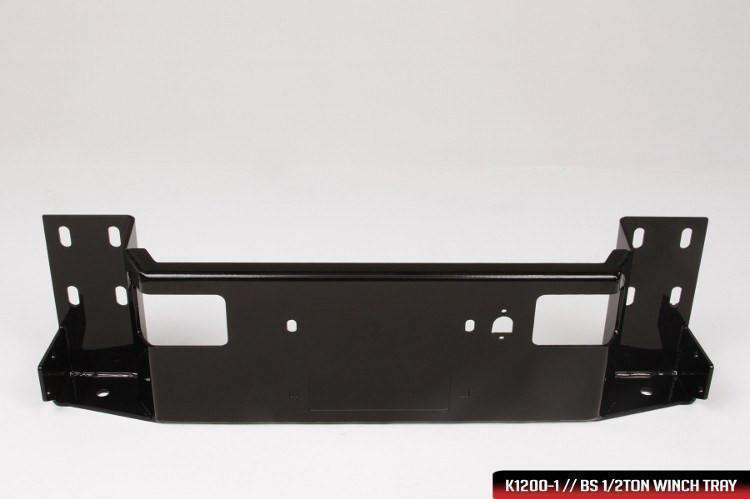 Fab Fours DR94-S1562-1 Dodge Ram 2500/3500/4500/5500 HD 1994-2002 Black Steel Front Bumper Pre-Runner Guard-BumperStock
