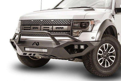 Fab Fours FF10-D1962-1 Ford F150 Raptor 2010-2014 Vengeance Front Bumper with Pre-Runner Guard-BumperStock