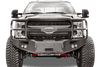 Fab Fours FS05-A1252-1 Ford F450/550 Superduty 2005-2007 Premium Front Winch Bumper with Pre-runner Grill Guard-BumperStock