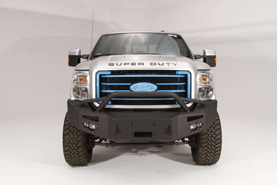 Fab Fours FS11-A2552-1 Ford F250/F350 Superduty 2011-2016 Premium Front Winch Bumper with Pre-runner Grill Guard-BumperStock