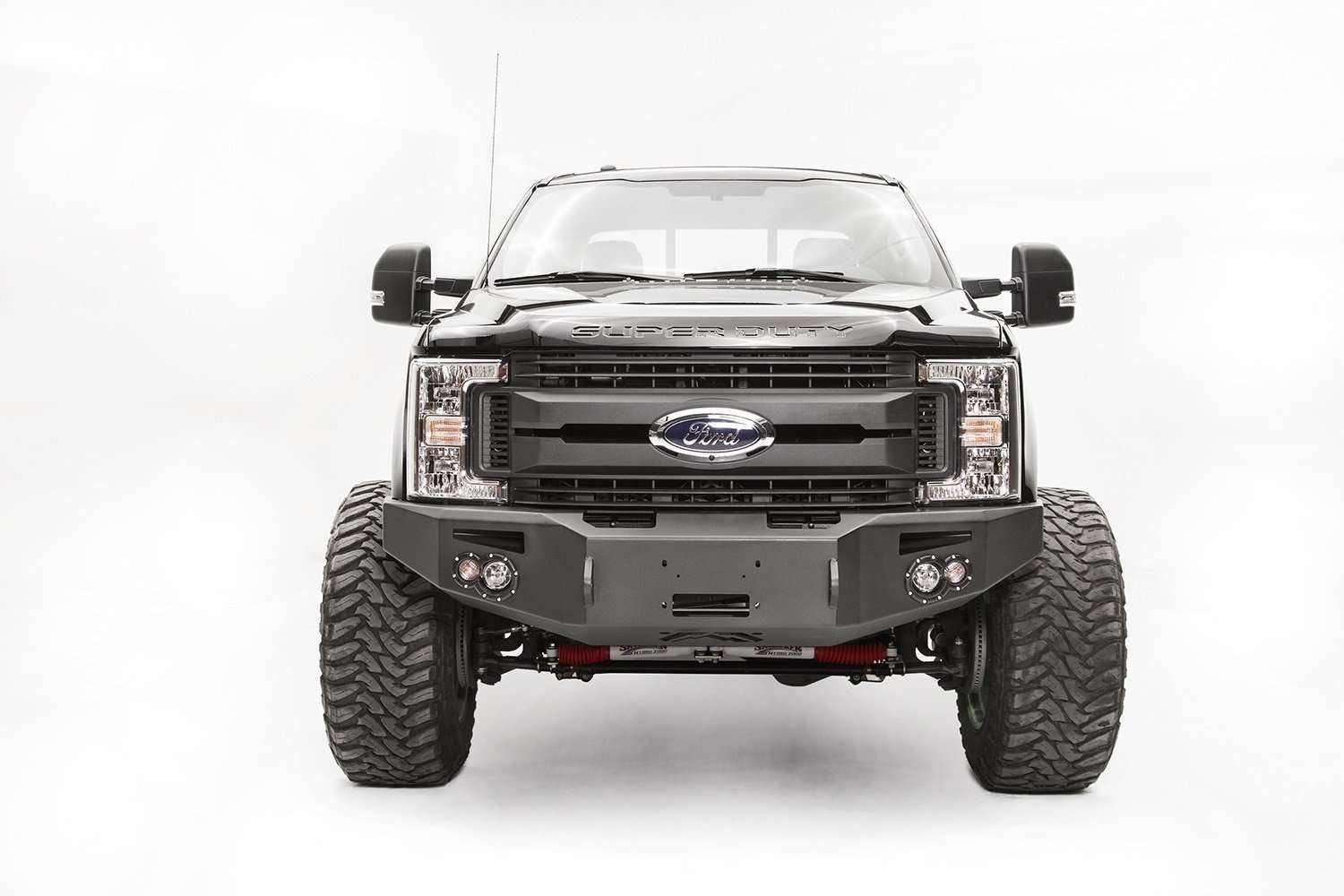 Fab Fours FS17-A4251-1 Ford F450/F550 Superduty 2017-2021 Premium Front Winch Bumper No Guard-BumperStock