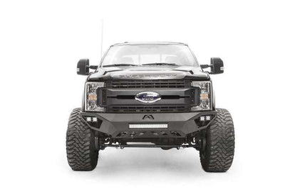 Fab Fours FS17-V4251-1 Ford F450/F550 2017-2018 Vengeance Front Bumper No Guard-BumperStock
