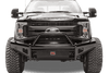 Fab Fours FS99-S1662-1 Ford F250/F350 F450/F550 1999-2004 Black Steel Front Bumper with Pre-Runner Guard-BumperStock