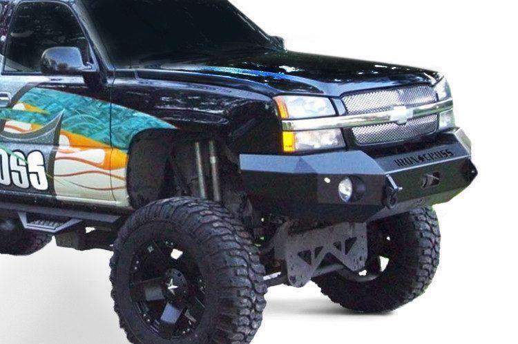 Iron Cross 03-06 Chevy Silverado 1500 Base Front Winch Bumper 20-515-03-BumperStock