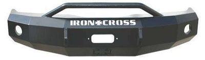 Iron Cross 03-06 GMC Sierra 1500 Winch Front Bumper With Push Bar 22-315-03-BumperStock