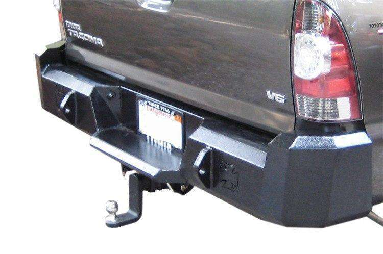 Iron Cross 05-15 Toyota Tacoma Rear Bumper 21-705-07-BumperStock