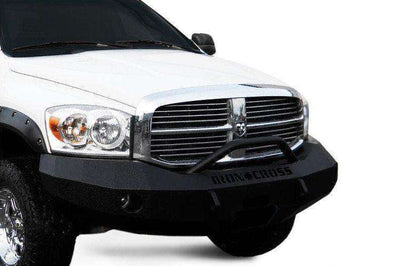 Iron Cross 06-08 Dodge Ram 1500 Winch Front Bumper With Push Bar 22-615-06-BumperStock