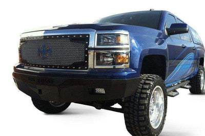 Iron Cross 07-13 GMC Sierra 1500 RS Series Low Profile Front Bumper 30-315-07-BumperStock