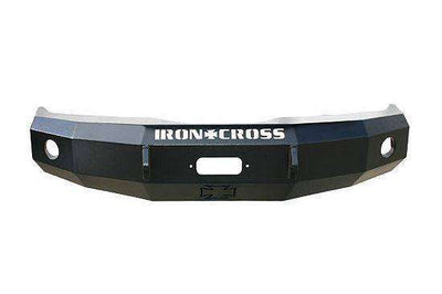 Iron Cross 07-13 Toyota Tundra Base Front Winch Bumper 20-715-07-BumperStock