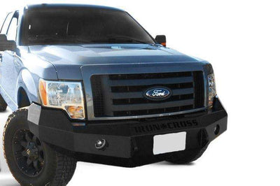 Iron Cross 09-14 Ford F150 Base Front Winch Bumper 20-415-09-BumperStock
