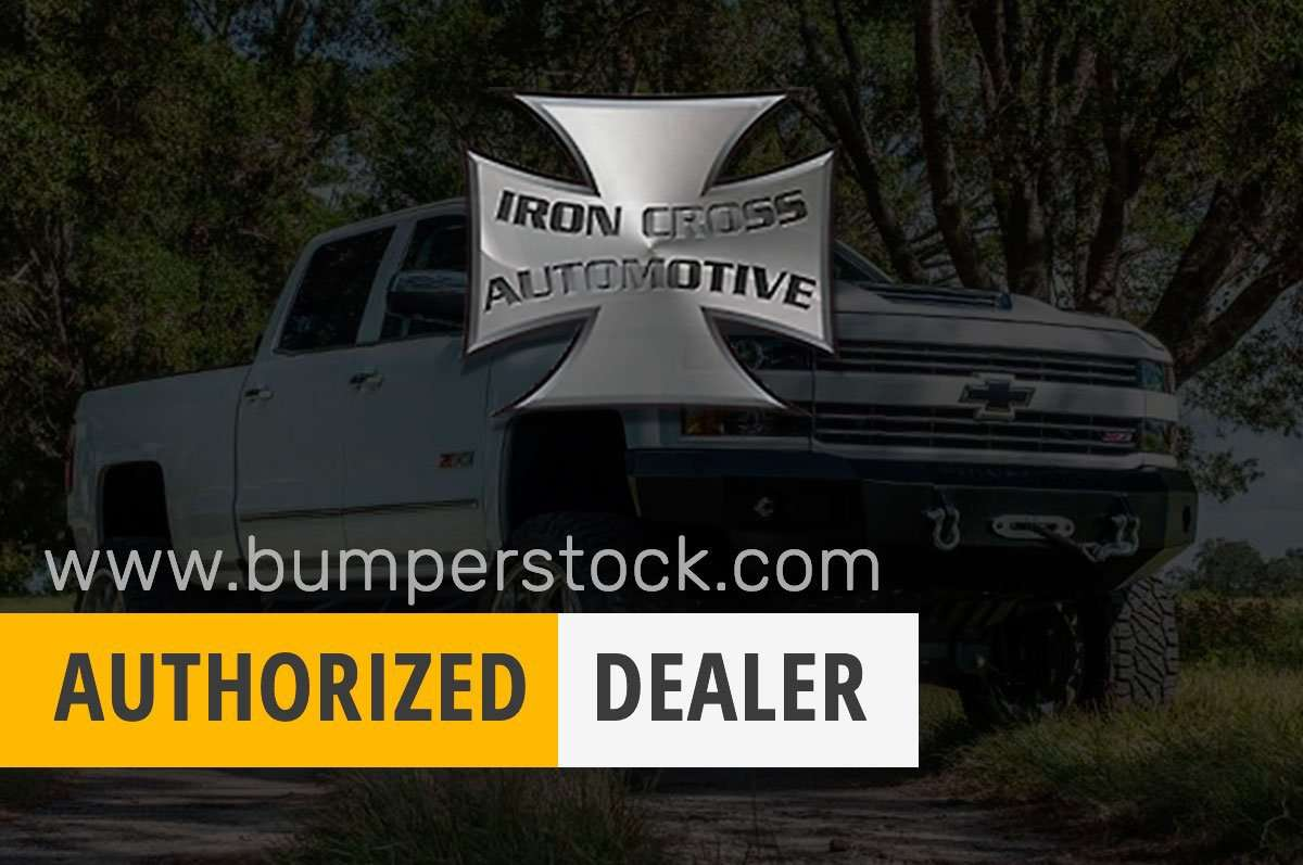 Iron Cross 09-14 FORD F150 Raptor Winch Front Bumper With Push Bar 22-415-RAP-BumperStock