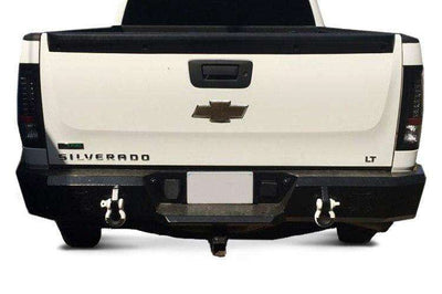 Iron Cross 11-14 Chevy Silverado 2500/3500 Rear Bumper 21-525-11-BumperStock