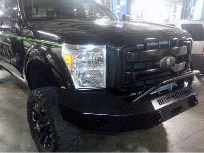 Iron Cross 11-16 FORD F250/F350 Winch Front Bumper With Push Bar 22-425-11-BumperStock