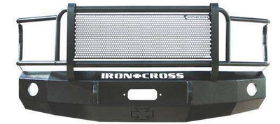 Iron Cross 14-16 GMC Sierra 1500 Winch Front Bumper With Grille Guard 24-315-14-BumperStock