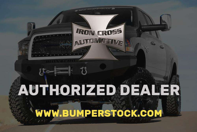 Iron Cross 14-18 GMC Sierra 1500 Rear Bumper 21-515-14-BumperStock
