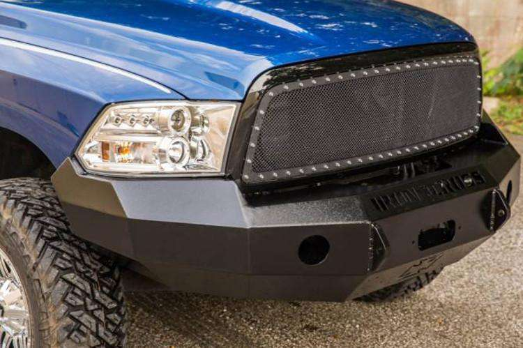 Iron Cross 2017-2018 Ford F250/F350 Super Duty Base Front Winch Bumper 20-425-17-BumperStock