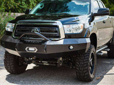 Iron Cross 2007-2013 Toyota Tundra Winch Front Bumper With Push Bar 22-715-07-BumperStock