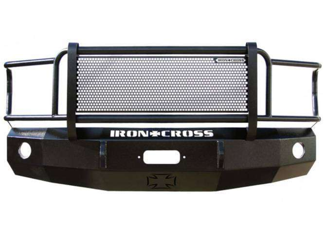Iron Cross 2009-2012 Dodge Ram 1500 Winch Front Bumper With Grille Guard 24-615-09-BumperStock