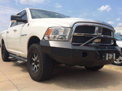 Iron Cross 2009-2012 Dodge Ram 1500 Winch Front Bumper With Push Bar 22-615-09-BumperStock
