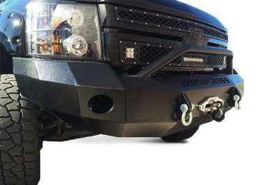 Iron Cross 2011-2014 Chevrolet Silverado 2500/3500 Winch Front Bumper With Push Bar 22-525-11-BumperStock