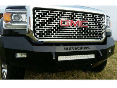 Iron Cross 40-325-15 Low Profile Front Bumper 2015-2018 GMC Sierra 2500/3500-BumperStock