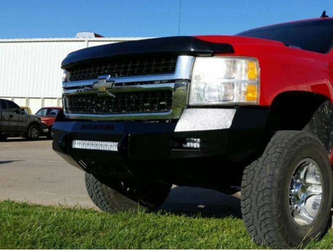 Iron Cross 40-525-07 Low Profile Front Bumper 2007-2010 Chevrolet Silverado 2500/3500-BumperStock