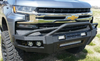 Iron Cross 62-515-19 Chevy Silverado 1500 2019 Hardline Front Bumper With Push Bar-BumperStock