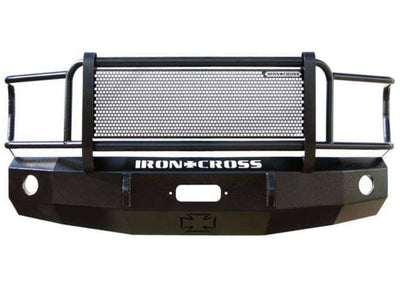 Iron Cross 92-07 Ford Van Winch Front Bumper With Grille Guard 24-405-92-BumperStock