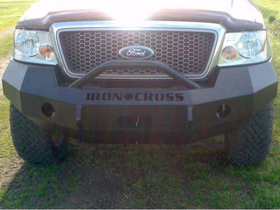 Iron Cross 97-03 FORD F150 Winch Front Bumper With Push Bar 22-415-97-BumperStock