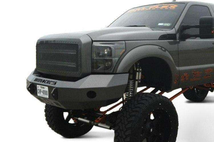 Iron Cross 99-04 Ford F250/F350 Superduty Base Front Winch Bumper 20-425-99-BumperStock