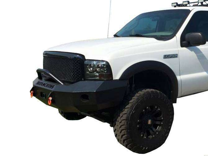 Iron Cross 99-04 FORD F250/F350/F450 Winch Front Bumper With Push Bar 22-425-99-BumperStock