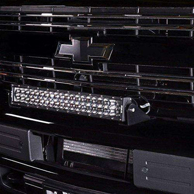 "PIAA 26-06120 Quad Series 20"" Dual Row Led Light Bar Kit in Combo Beam-BumperStock"