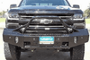 Ranch Hand BSC16HBL1 2016-2017 Chevy Silverado 1500 Summit Bullnose Front Bumper-BumperStock