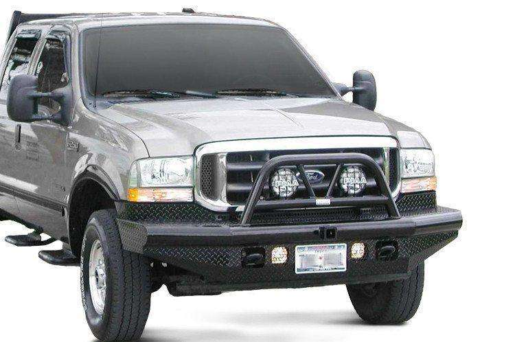 Ranch Hand BTF991BLR 2000-2004 Ford Excursion Legend Bullnose Front Bumper-BumperStock